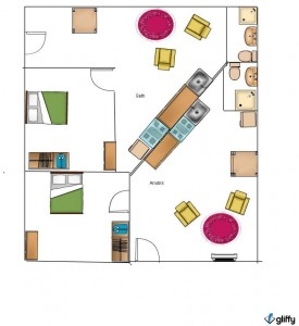Egypt Property For Sale - Anubis and Seth Floor Plan